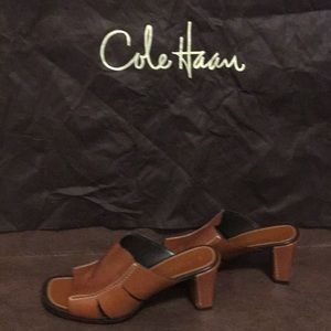Cole Haan Sandal two inches size 7.5 M